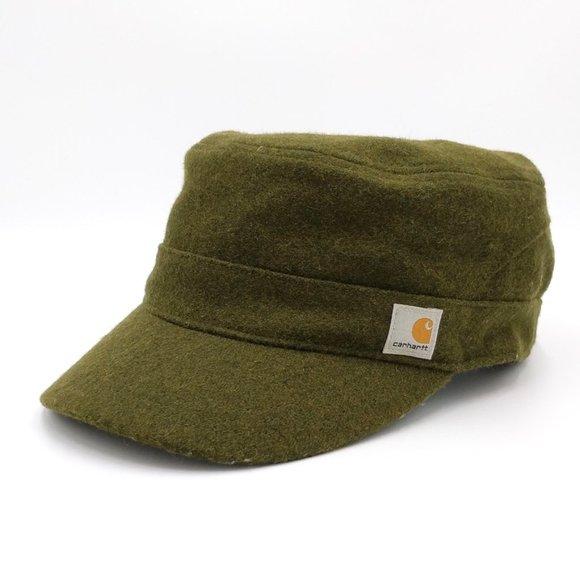 Carhartt Other - Carhartt Wool Camden Army Military Cap Hat Surplus
